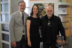 Petar Feletar, Stjepan Sterc i Petra Somek P3200142