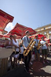 Mladi saksofonisti na Dolcu